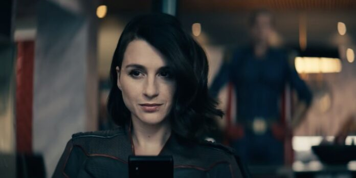 Aya Cash nel ruolo di Stormfront