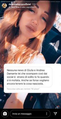 Giulia De Lellis ha tradito Andrea Damante? Lui si leva l'anello di fidanzamento e… (FOTO)