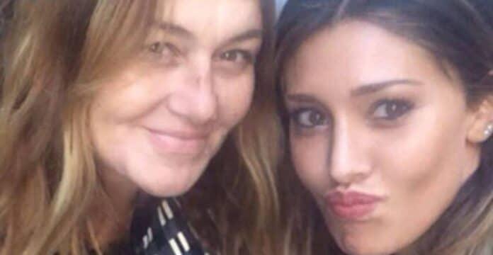Belen Rodriguez e sua mamma
