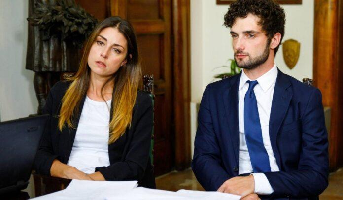 Miriam Candurro e Luca Turco