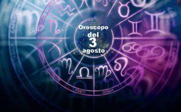 Oroscopo 3 agosto