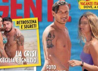 Chanel Totti in copertina