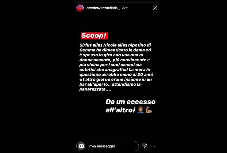 Uomini e donne, nuova conquista per Nicola Vivarelli: Gemma tradita fuori dal programma
