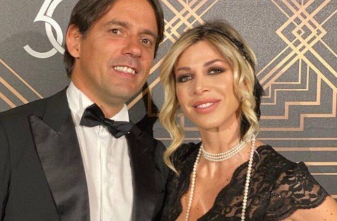 Simone Inzaghi e compagna