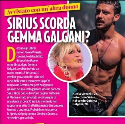 Uomini e donne: Gemma torna single e Sirius si consola con un'altra (FOTO)