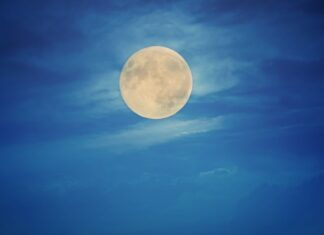 Luna Blu il prossimo Halloween