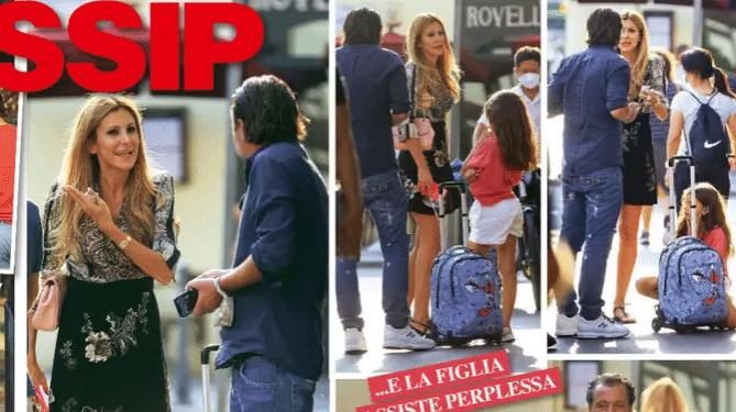 Adriana Volpe litiga col marito Roberto Parli
