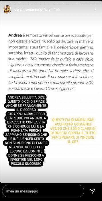 """GF VIP, Andrea Zelletta fa una confessione su sua madre: """"Non sono riuscito a farla smettere"""", sul web è polemica (VIDEO)"""