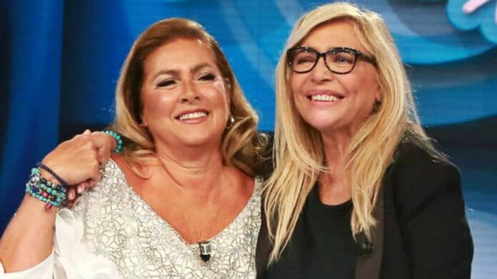 Mara Venier e Romina Power