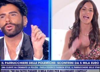 Federico Fashion Style contro Antonella Mosetti