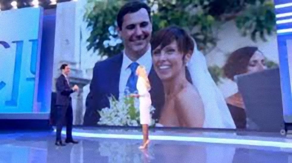 Francesco Vecchi e la moglie