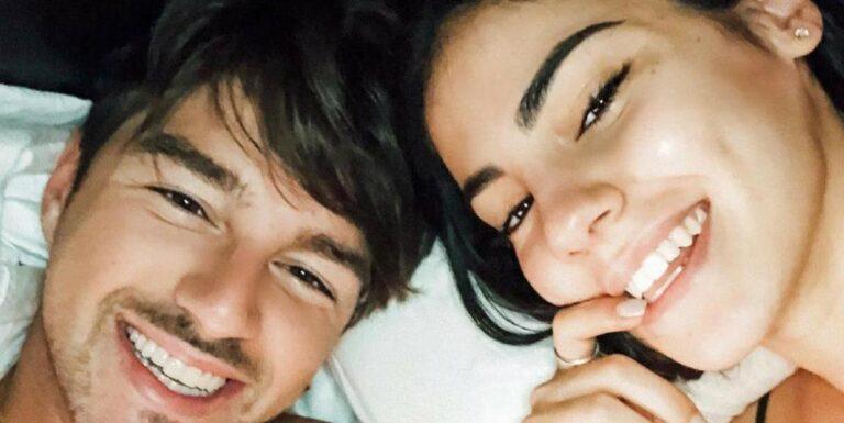 """Giulia De Lellis e Andrea Damante possibili frecciatine social, il web: """"Hanno pubblicato la stessa frase"""" (FOTO)"""