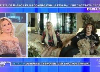 I De Blanck e Barbara D'Urso