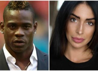 Mario Balotelli e Alessia Messina