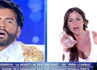 Antonella Mosetti contro Federico Fashion Style