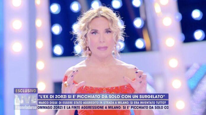 Barbara D'Urso contro Iconize