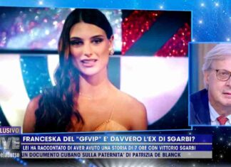 Vittorio Sgarbi contro Franceska Pepe