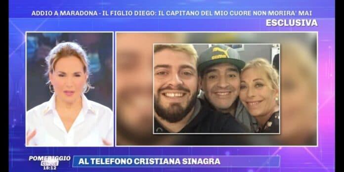 Cristiana Sinagra su Maradona