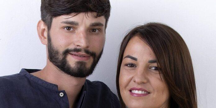 Anna e Andrea figlio