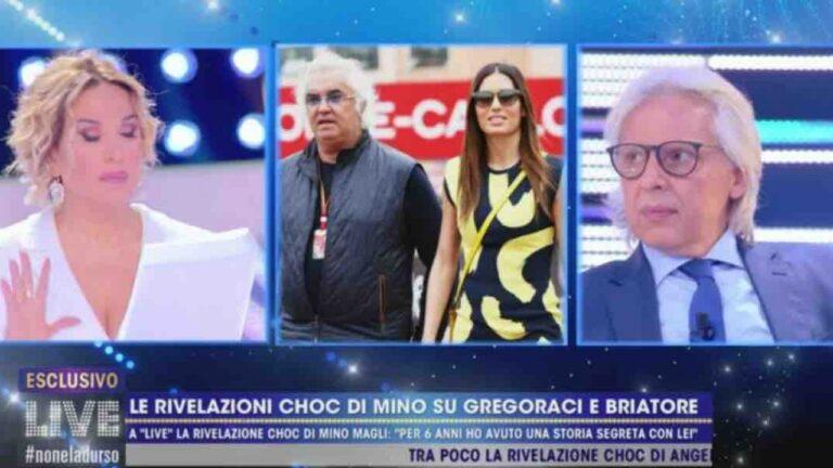 """Elisabetta Gregoraci, Mino Magli muove altre accuse: """"Lei è stata con un condominio intero"""" (VIDEO)"""