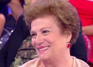 Tina Cipollari su Maria