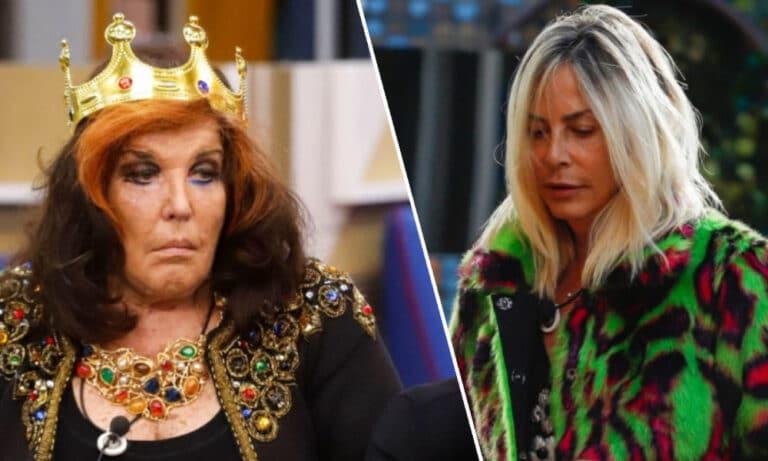 """GF Vip, Patrizia De Blanck furiosa con Stefania Orlando: """"La solita str**za"""""""