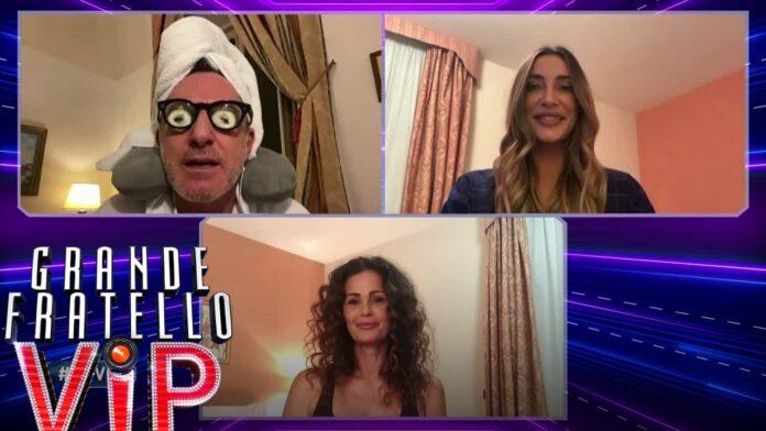 GF Vip Filippo Samantha e Sonia