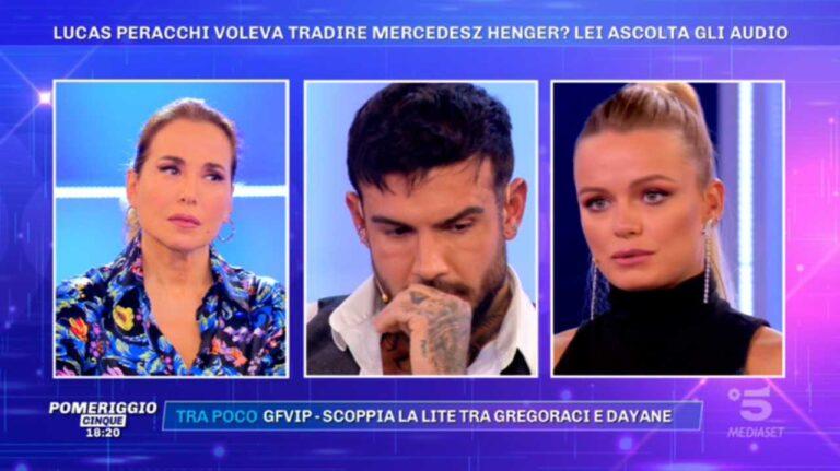 Mercedesz Henger furiosa con Selvaggia Roma: spuntano audio compromettenti sul fidanzato Lucas (VIDEO)