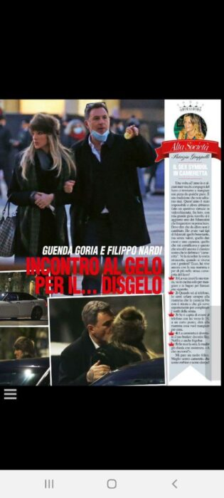 Filippo Nardi e Guenda Goria paparazzati insieme a braccetto: le foto che spiazzano tutti