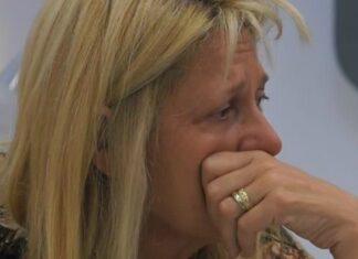 Maria Teresa Ruta ha una crisi