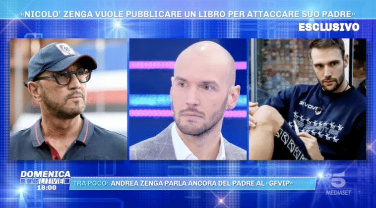 """Andrea e Nicolò, nuovi retroscena sul padre Walter Zenga: """"Mi ha bloccato su Instagram"""" (VIDEO)"""