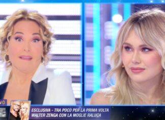 Barbara D'Urso gaffe con Jasmine Carrisi