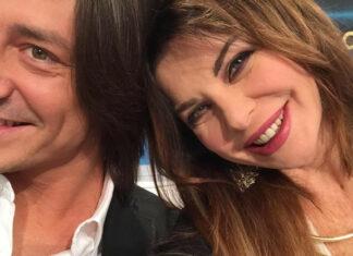 Francesco Oppini e Alba Parietti