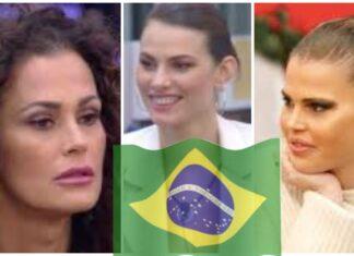 Samantha e Carlotta contro Dayane e Rosalinda