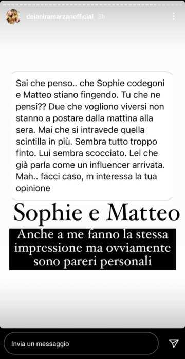 """Sophie Codegoni e Matteo Ranieri stanno fingendo? """"Tutto troppo finto, lui è scocciato"""" (FOTO)"""