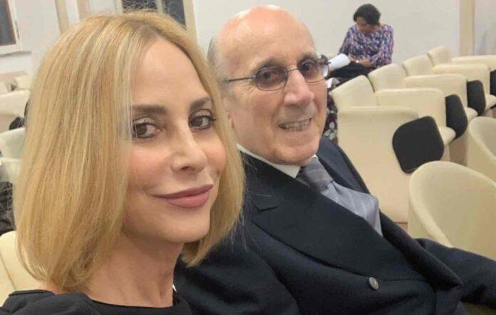 Stefania Orlando e il padre Pietro Romano