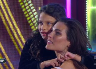 Dayane Mello e la figlia Sofia