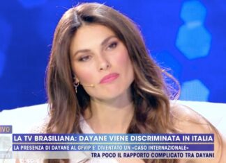 Dayane Mello su Francesco Oppini