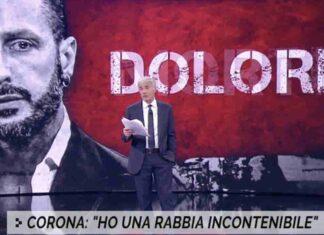 Fabrizio Corona lettera