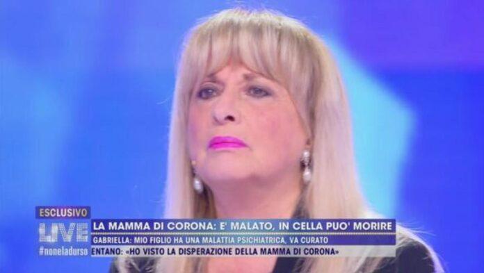 Fabrizio Corona mamma Gabriella