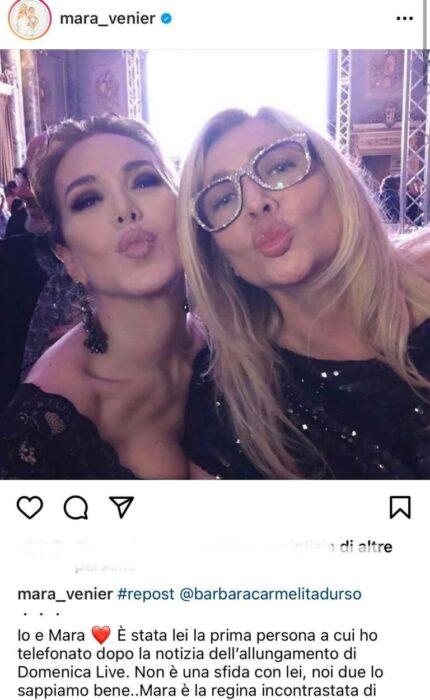 Post di Mara Venier