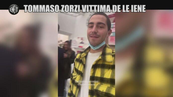 Tommaso Zorzi scherzo Le Iene