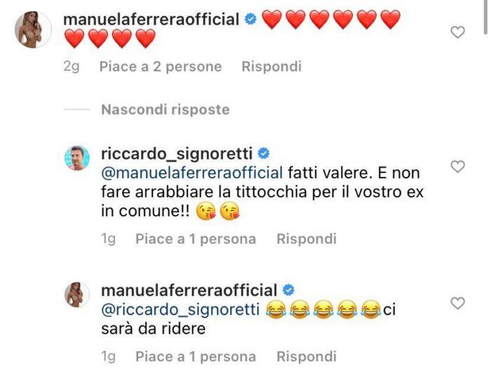Botta e risposta tra Manuela Ferrara e il direttore di Nuovo, Riccardo Signoretti