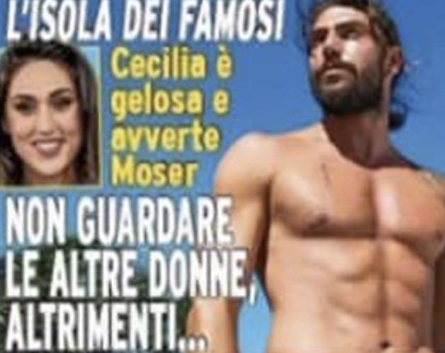 Cecilia Rodriguez geloso di Ignazio Moser
