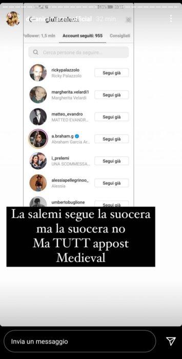 Giulia Salemi ha mentito sul rapporto con la suocera? Il brutto gesto della mamma di Pretelli (FOTO)