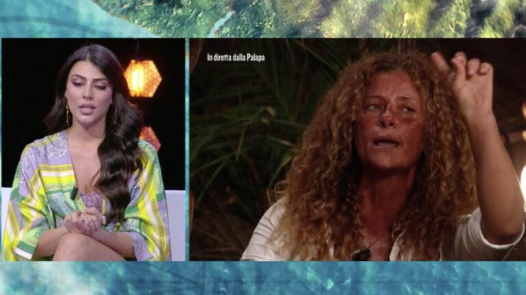 """Isola dei Famosi, Valentina Persia sbrocca contro Giulia Salemi: """"Non ti permettere signorina"""" (VIDEO)"""