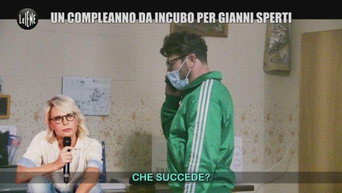 Le Iene scherzo a Gianni Sperti