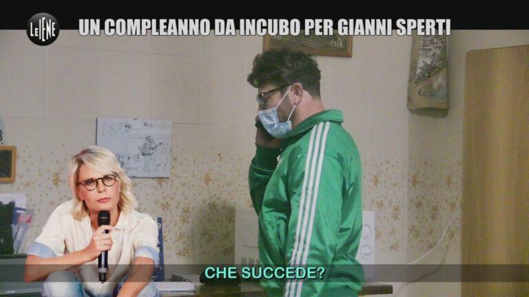 """Le Iene, scherzo a Gianni Sperti, lui sbotta a telefono con Maria De Filippi: """"Ma vaffa…"""" (VIDEO)"""