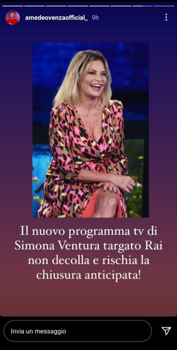 Simona Ventura flop