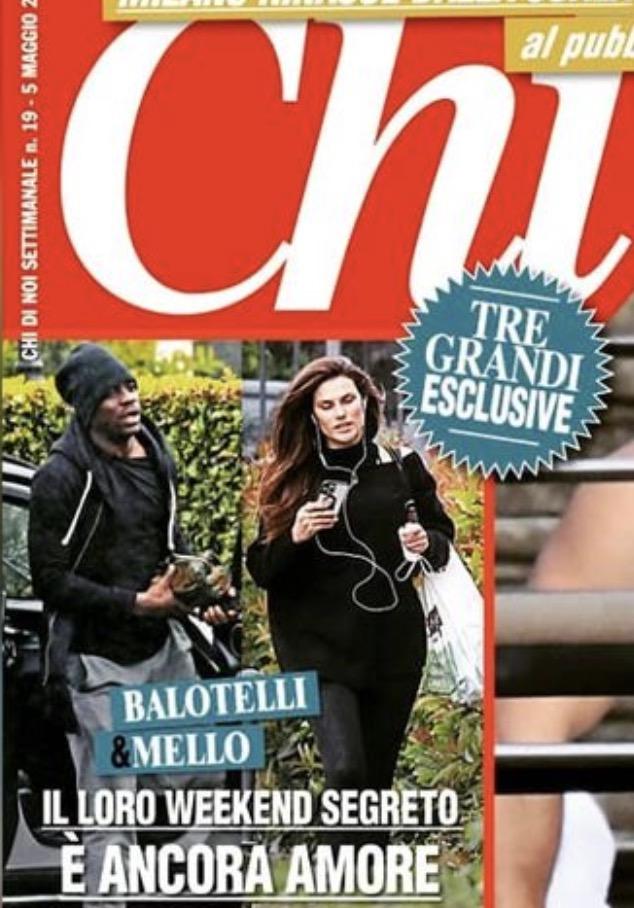 Dayane Mello e Mario Balotelli